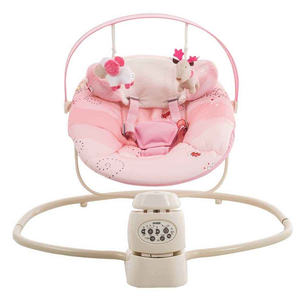 soo baby premium bebek salincagi pink mushroom ilke bebe