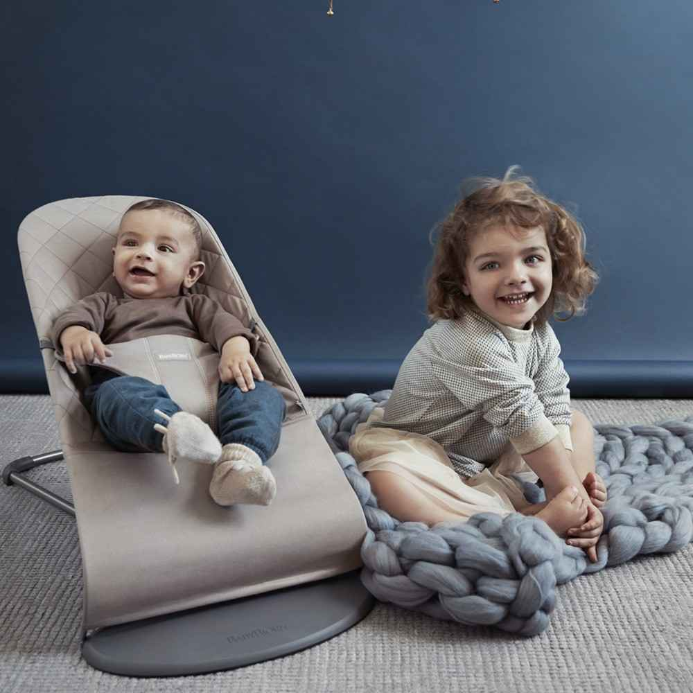 Babybjörn Bliss Ana Kucağı Cotton Sand Grey