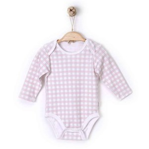 Kiti Kate Smart Plaid Uzun Kol Bebek Body S57812