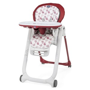 Chicco Polly Progres5 4W Mama Sandalyesi Red