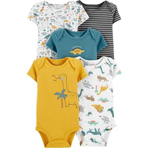 Carter's Layette 5'li  Bebek Body 1I731110