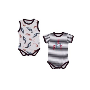 Bebepan Seaside Bebek 2'li Body 3894